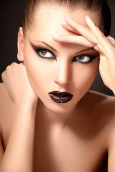 Editorial and high fashion makeup by Serenity